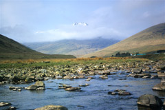 Ben Lui, from the River Cononish.