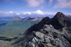Sgurr nan Gillean, from the summit of Am Basteir.