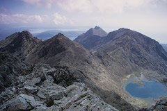 Coir'a'Ghrunnda, from the summit of Sgurr Alasdair.