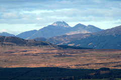 Cruach Ardrain and Beinn Tulaichean, from the summit of Auchineden Hill.