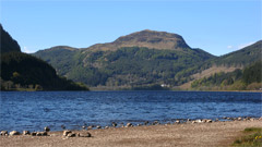 Meall Mor, from Loch Lubnaig.