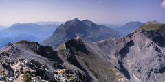 Beinn Eighe: looking west from Spidean Coire nan Clach.