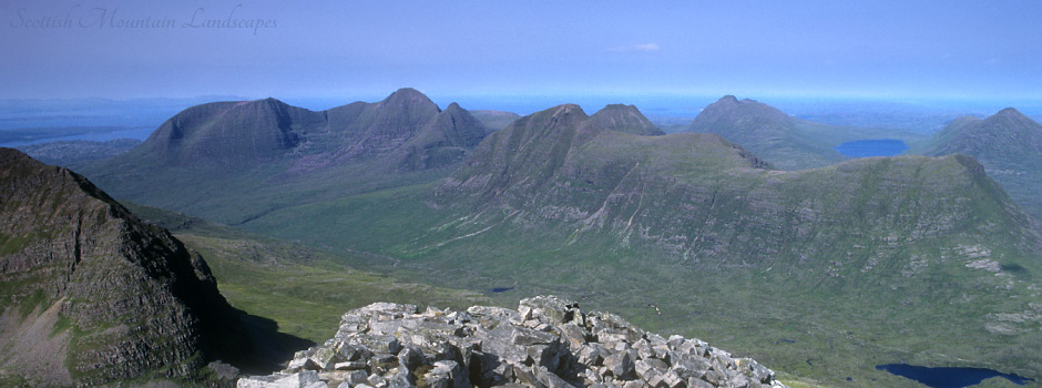 Beinn Alligin and Beinn Dearg.